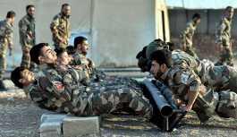 Türkiye'nin eğittiği ÖSO militanları görüntülendi
