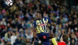 Usain Bolt ilk maçına çıktı