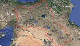 Google, Türkiye'nin güneydoğusunu Kürdistan haritası içinde gösterdi
