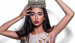 Miss Earth yarışmasında, İsrailli güzelle fotoğraf çektiren Lübnanlı güzelin unvanı elinden alındı