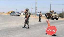 Antep sınırdaki yasak 5'inci kez uzatıldı