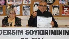 Araştırmacı Onaran: 10 maddede Dersim'de ırkçılık icra edildi