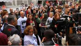 Cumartesi Anneleri yasağa rağmen Yazıcı'nın akıbetini sordu