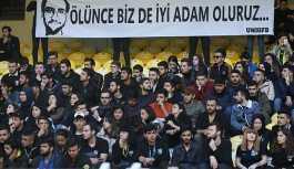 Galatasaray- Fenerbahçe maçında hayatını kaybeden taraftar Şener için Kadıköy'de tören