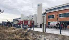 Gaz dolum tesisinde patlama: 1 ölü, 2 yaralı