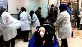 Halep'e yönelik kimyasal saldırı sonrasında 73 kişi tedavi altında