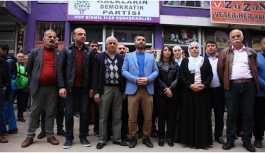 HDP Bismil ilçe binasına saldırı kınandı