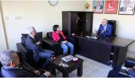 HDP'den Saadet Partisi'ne ziyaret