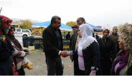 HDP'li Remziye Tosun'dan Lice esnafına ziyaret