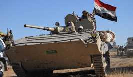 Irak ordusu, Suriye'deki IŞİD hedeflerini vurdu