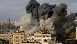 İsrail'den Gazze Şeridi'ne hava saldırısı
