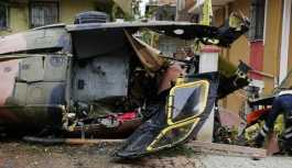 İstanbul'da askeri helikopter düştü: 4 asker hayatını kaybetti