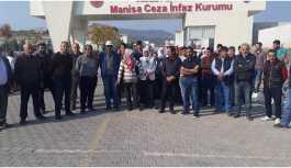Manisa Cezaevi'ndeki hak ihlalleri protesto edildi