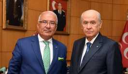 Mersin Büyükşehir Belediye Başkanı Kocamaz, MHP'den istifa etti
