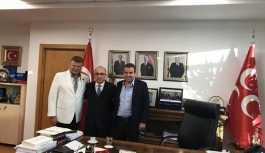 Nuri Alço'dan MHP'ye ziyaret