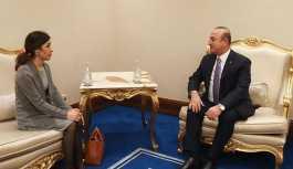 Çavuşoğlu Nobel ödüllü Murad'ı kabul etti