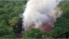 Dr. Sadi Konuk Hastanesi'nde yangın