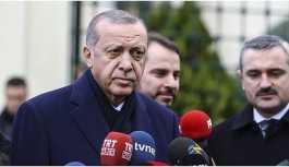 Erdoğan: Suriye Münbiç'de psikolojik bir eylem içinde