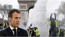 Fransa Cumhurbaşkanı Macron, Sarı Yelekliler...