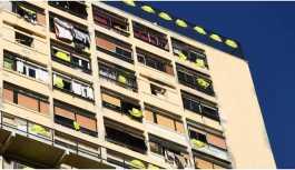 Fransa sokakları sarıya büründü