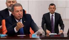 Hulusi Akar'dan CHP'Lİ Özel'e dava