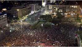 İsrail'de kadınlar şiddeti protesto için greve çıktı
