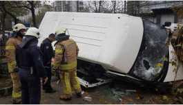 İstanbul'da kaza: 14 yaralı