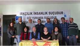 KESK üyeleri Sakarya'daki ırkçı saldırıyı kınadı