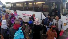 1 günde 1.100 Suriyeli ülkesine geri döndü
