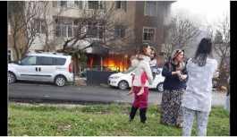 Büyükçekmece'de patlama: 3 yaralı