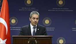 Dışişleri Sözcüsü Aksoy'dan 'geri çekilme' açıklaması