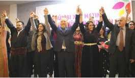 HDP Van adaylarını tanıttı: 31 Mart'ta sokaklarda kayyumların kırıntısı bile kalmayacak