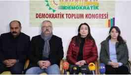 HDP'li vekiller tecrit ve açlık grevleri için nöbet başlattı