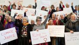İsviçre'de 'büyükanneler' iklim mücadelesinden vazgeçmiyor: Torunlarımız için