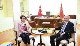 Kılıçdaroğlu, Akşener ile bir araya geldi: İttifakla ilgili sorunlar ele alındı