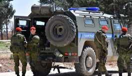 Rus askeri polisi, Menbiç'te devriye faaliyetine başladı