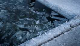 Rus kadın, buzlu suda bir saat kaldı, rekor kırdı