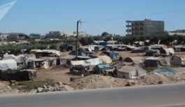 'Suriye'nin Türkiye sınırındaki sığınmacılar felaket durumda'