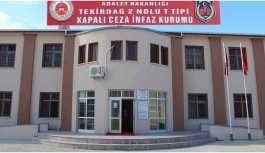 Tekirdağ'da tutukluya darp iddiası