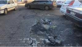 Viranşehir kayyumunun 12 milyona yaptığı yollar çöktü