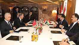 Akar, IKBY Başbakan adayı Mesrur Barzani ile görüştü