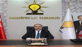 AKP ilçe başkanı istifa etti