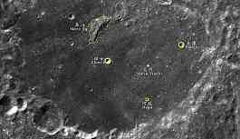 Ay'daki kraterlere Çince isimler verildi