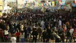HDP'nin Cizre'deki büro açılışı mitinge dönüştü