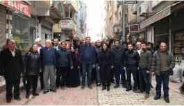 HDP'nin Nusaybin adayları halkla buluştu