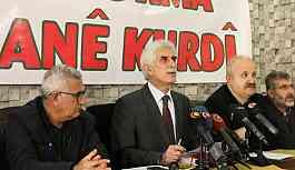 Hedef Kürtçenin resmi dil olması ve Kürt Dil Kurumu'nun kurulması