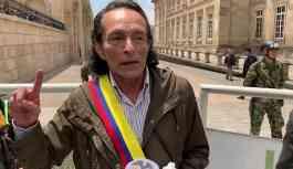 Kolombiya'da ilgi çeken Venezüella eylemi: Kendini Kolombiya Devlet Başkanı ilan etti