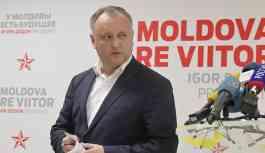 Moldova Devlet Başkanı Dodon'un konvoyunda meydana gelen trafik kazasının görüntüleri yayınladı