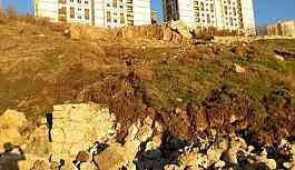 Şırnak'ta TOKİ'nin bulunduğu alanda toprak kayması