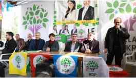 Barış etkinliğinde Güven ve tutukluların eylemine dikkat çekildi